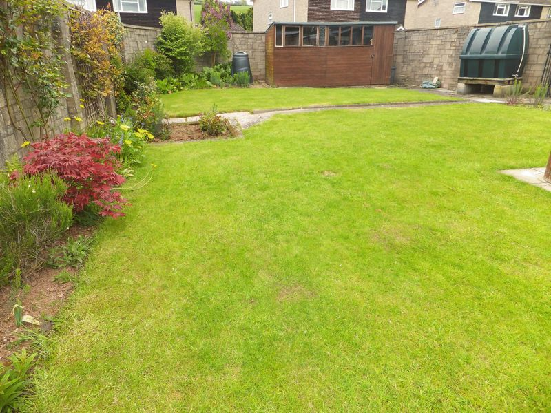 Rear Lawn- click for photo gallery